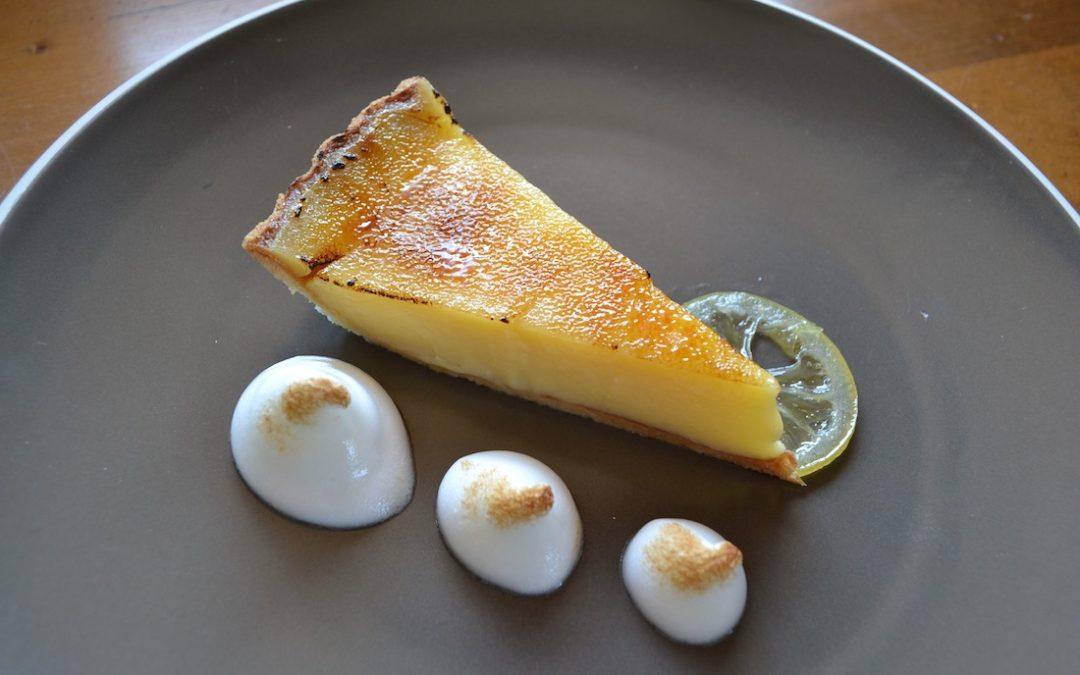 Lemon Tart Brulée
