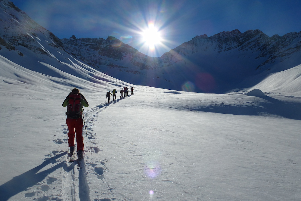 What is Ski Touring?