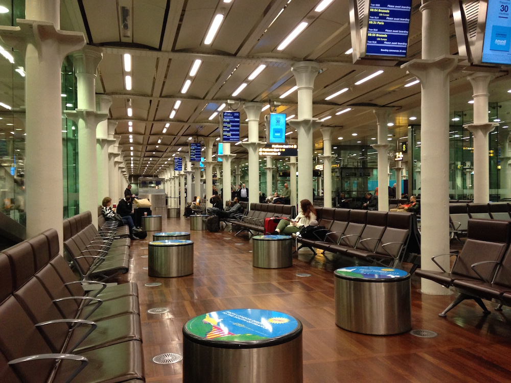 St Pancras Waiting Area