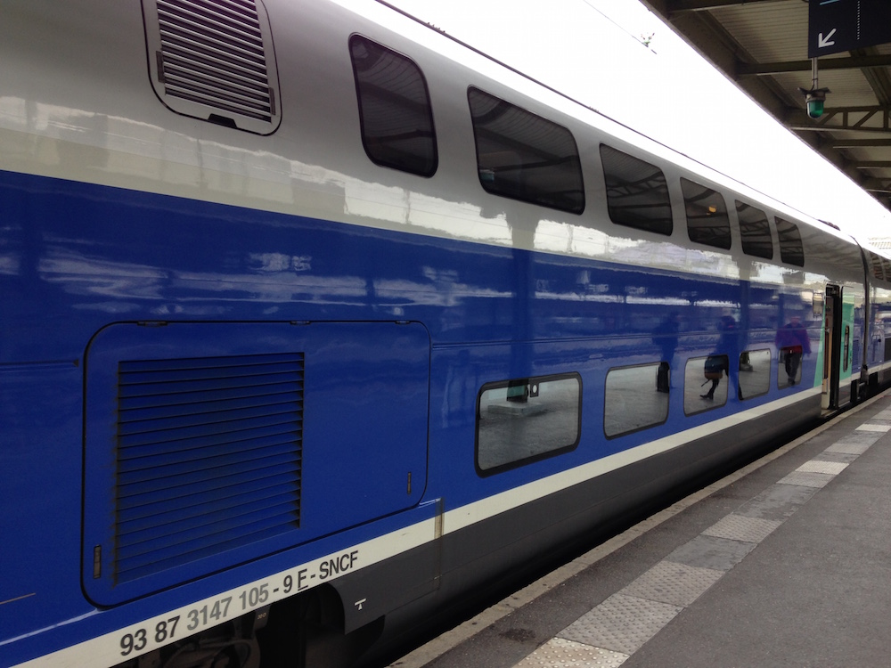 TGV Paris to Geneva