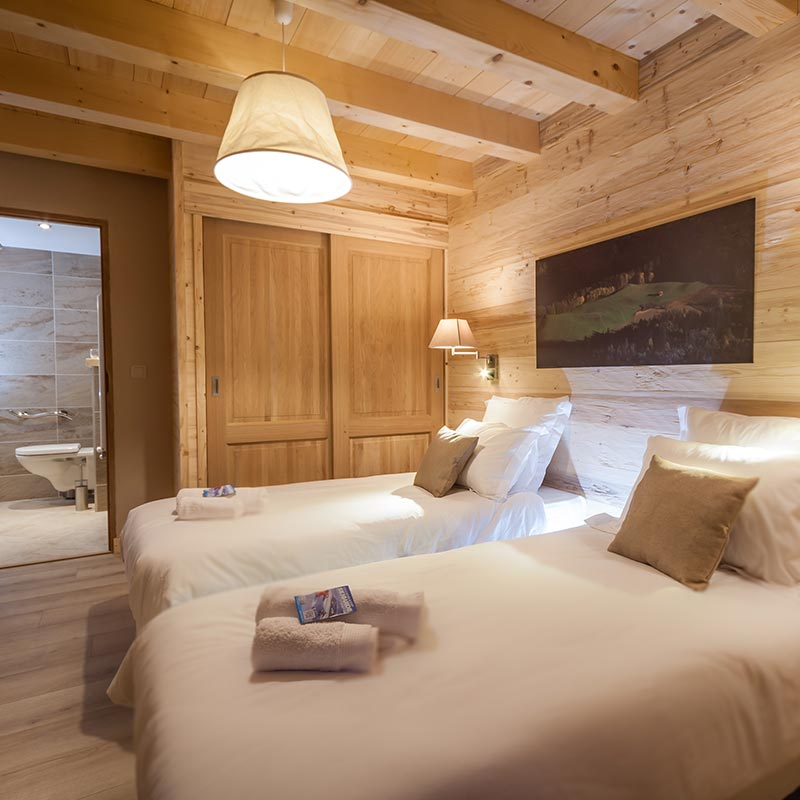 Alps Chalet Samoens Bedrooms