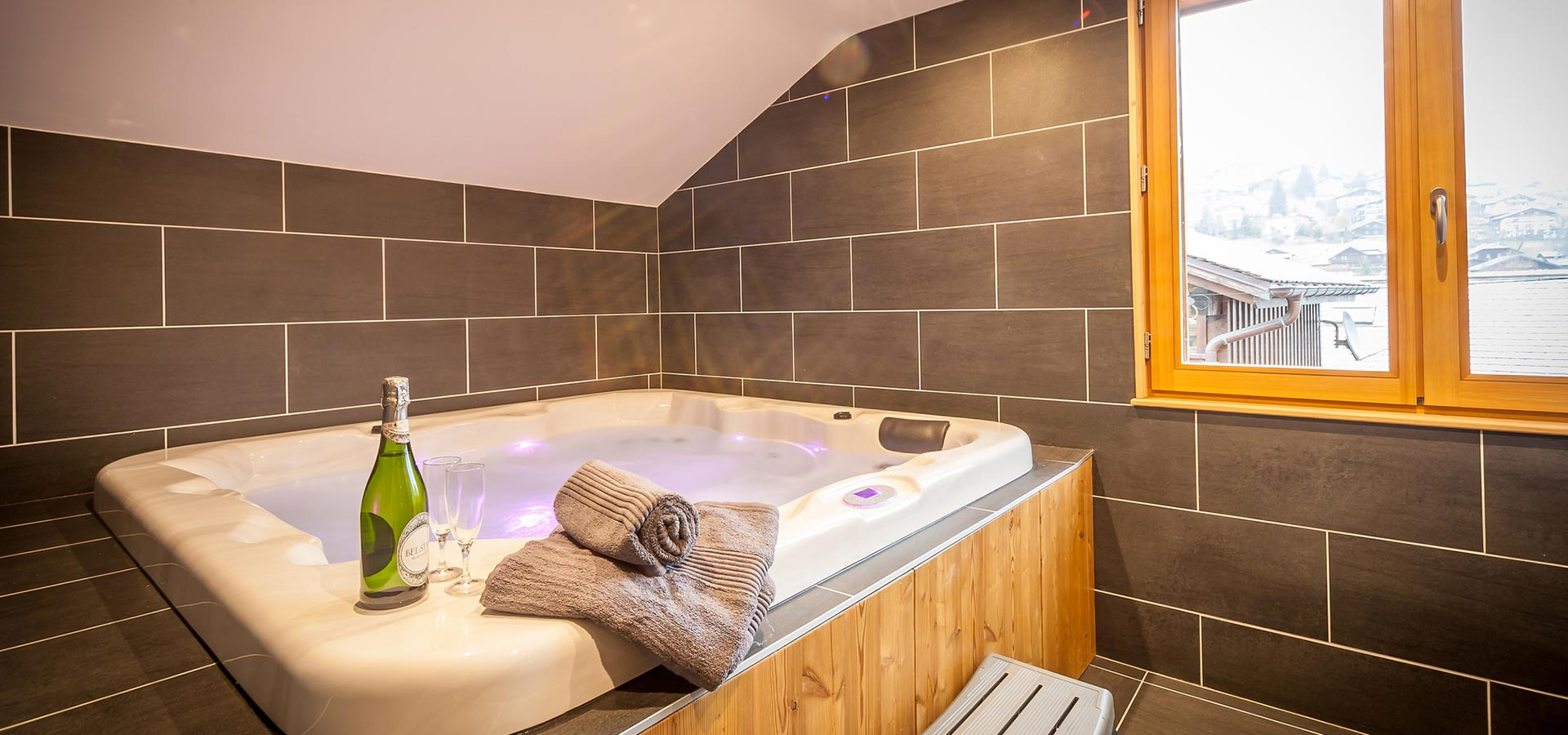 Morzine Chalet Hot Tub