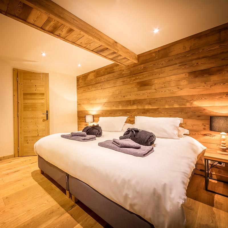 Morzine The Little Grange Bedrooms