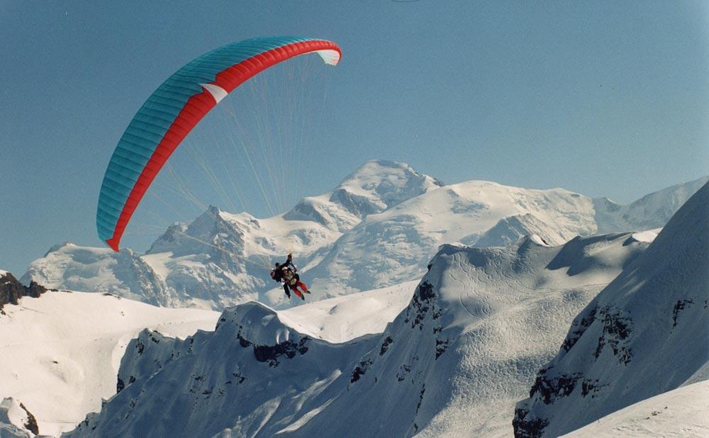 Alps parapenting