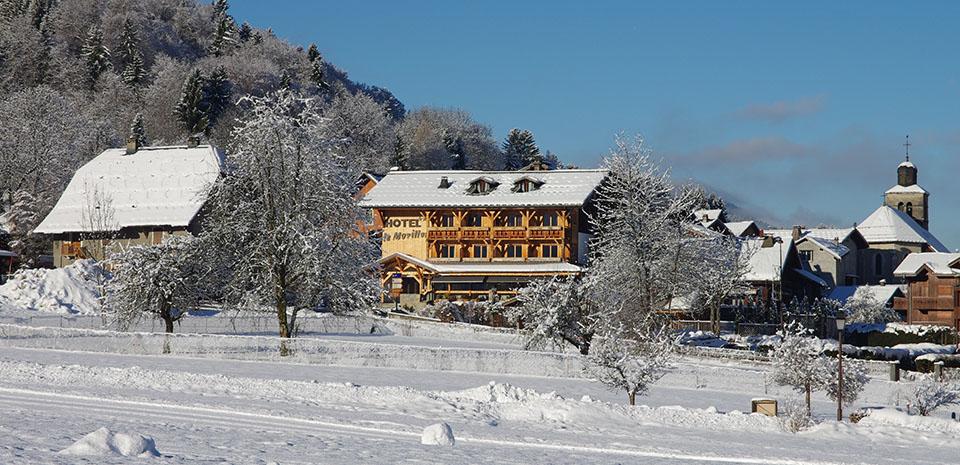 Ski Grand Massif Hotel le Morillon