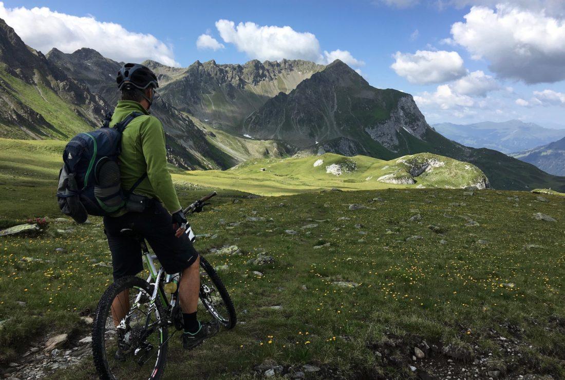 Mountain biking Morzine PDS 2