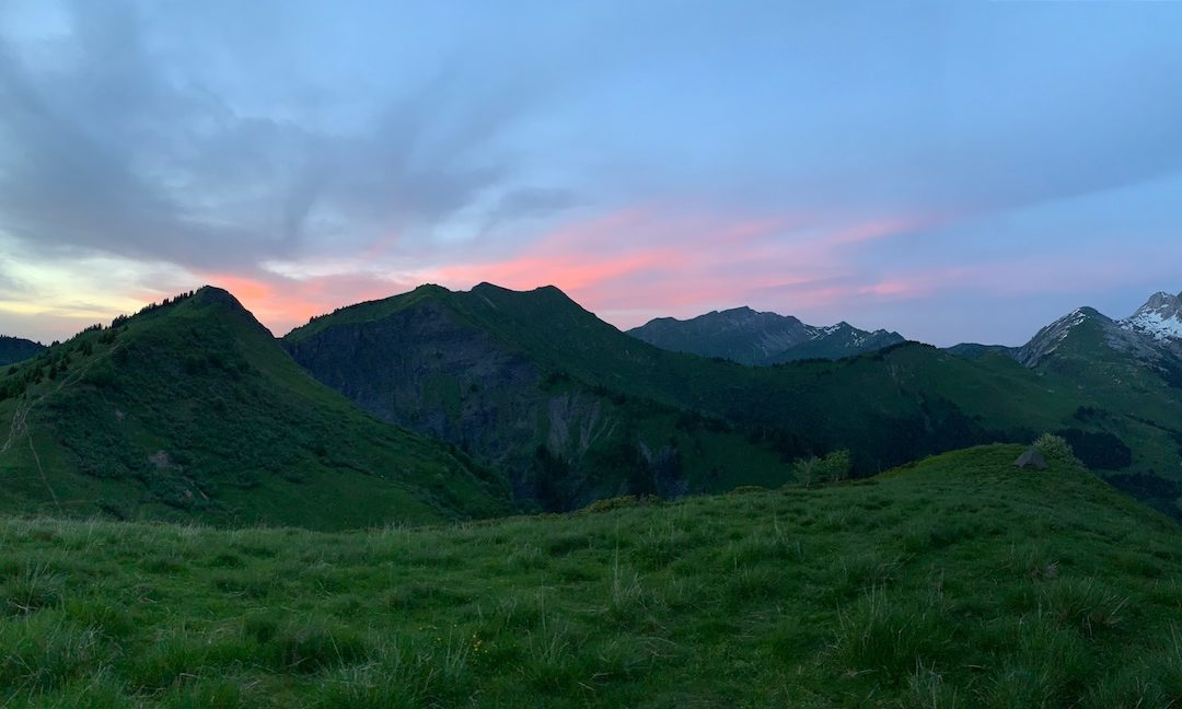 Wild Camping in the French Alps