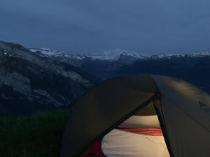 Wild Camping French Alps 3