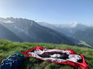 Wild Camping French Alps 4
