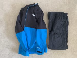 Day Hike Packing List - Waterproofs