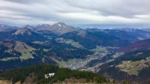 Morzine 3 peaks challenge Pointe de Ressachaux 2